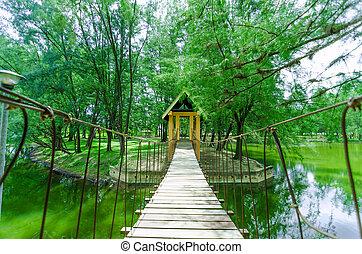Wood Bridges at Gelora Park, Kuantan