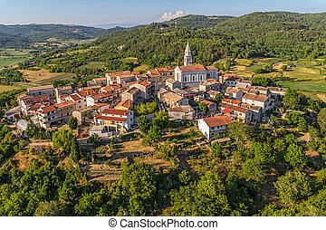 Istria - Beram - Beram small picturesque historical village...