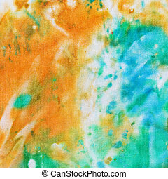 abstract pattern of cold painted batik - abstract floral...