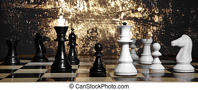 Game of chess - To move the queen Game of chess