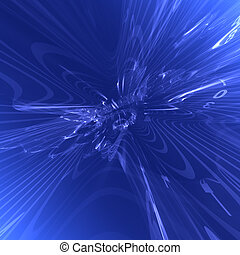 Abstract futuristic blue background - Abstract blue...