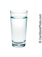 vidrio, agua