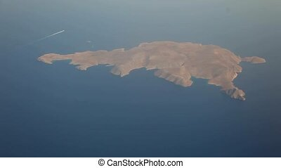 Aerial, Island of Crete, Greece