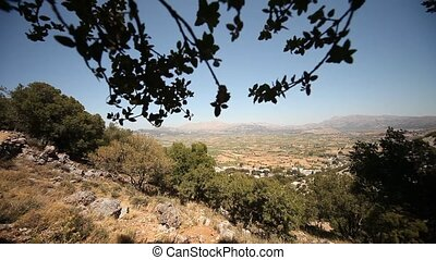 Lasithi Plateau, Crete, Greece - video footage of the...