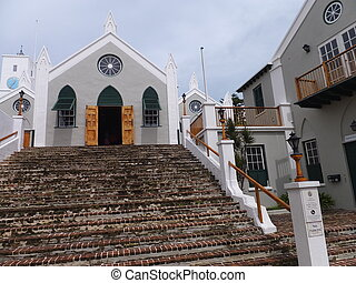 St. Peter's Church, in St. George's, Bermuda