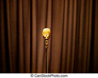 vindima, microfone