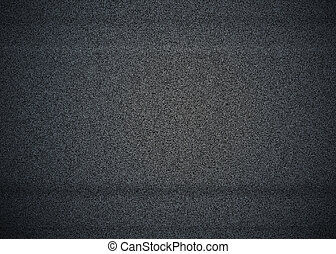 TV Static - White Noise - Black and white noise on a TV...