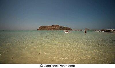 Balos Beach, Crete, Greece - beach of Balos in Crete, Greece