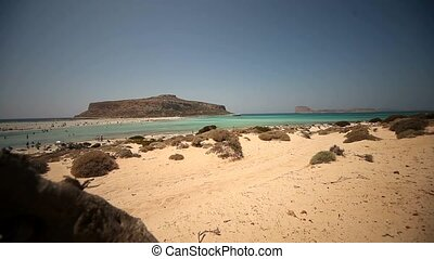 Balos Beach, Crete, Greece - beach of Balos in Crete, Greece