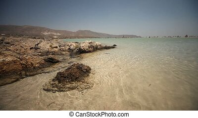 Elafonisi Beach, Crete, greece - beach of Elafonisi in...