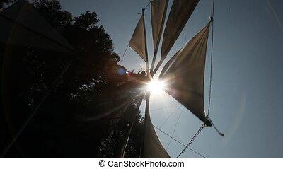 Windmill, Crete, Greece