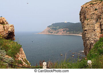 island - landscape of seashore ,photo taken in changdao...