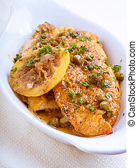 Chicken Piccata - Piccata is a method of preparing food:...