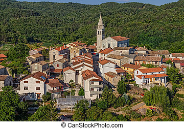 Istria - Beram - Beram small picturesque village in Istria...