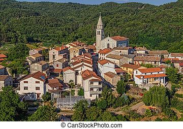 Istria - Beram - Beram small picturesque village in Istria...