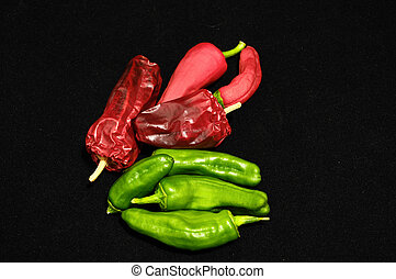 Hot Chili Peppers - Some Very Hot Chili Peppers Ready to...