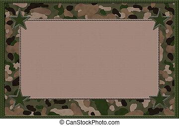Kamouflage, bakgrund