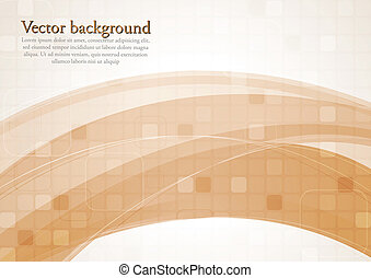 Abstract modern vector background - Elegant abstract...