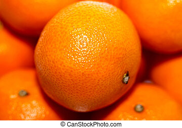 orange tangerines - large bright orange tangerines