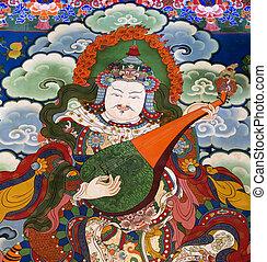 Tibet - Buddhist Art - Drepung Monastery