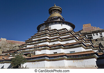 Kumbum Stupa - Gyantse - Tibet Autonomous Region of China