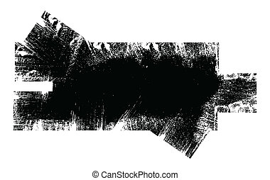Grunge Dirty Overlay Shape Vector - Drawing Art of Grunge...