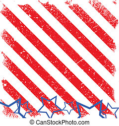 Strip Background - 4th of July Vector theme Design