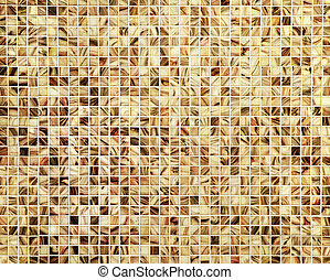 Marble mosaic background - Marble mosaic floor tiles...