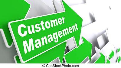 Customer Management. Business Concept. - Customer Management...