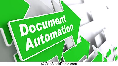 Document Automation Business Concept - Document Automation -...