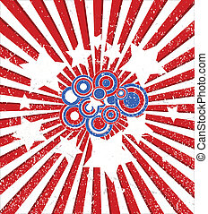 Abstract 4th of July Background