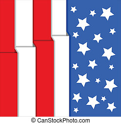 USA Flag - 4th of July Background
