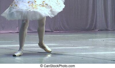 Dance of the Ballerina - Ballerina shows classic ballet pas....