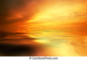 sunset background - abstract sunset background