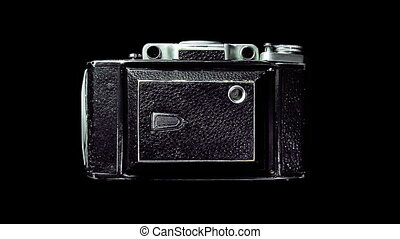 Vintage camera shooting - Old camera shooting