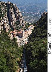 Montserrat monastery. Spain