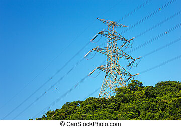 Power distribution tower