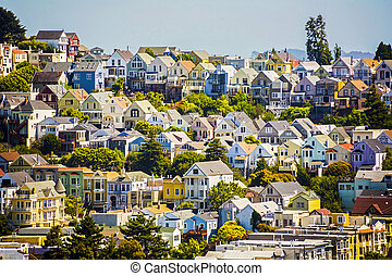 urban villages in San Francisco - urban houses in San...