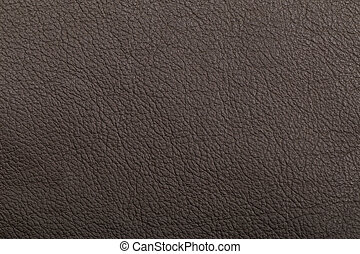 Leather texture in black color