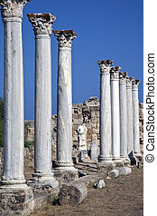 Salamis - Turkish Cyprus - Salamis was built by the Romans,...