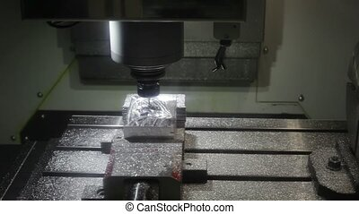 Metal Milling Machine - Four axis Metal Milling Machine