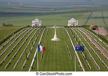 War Cemetery - The Somme - France - The Australian Cemetery...