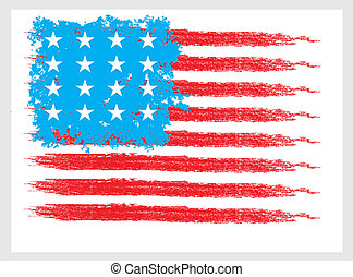 american maps line vector art