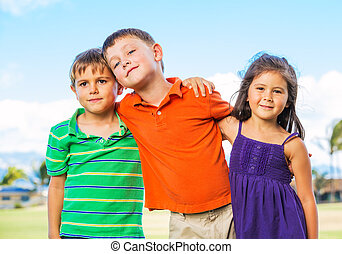 Group of Happy Kids
