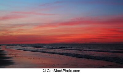 Colorful Coast Loop - A colorful sunrise sky tops the...