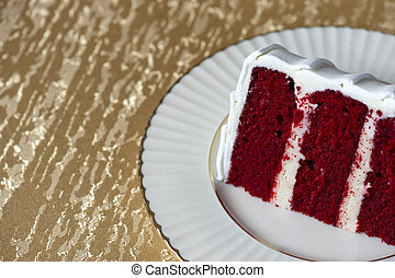 Piece of wedding cake
