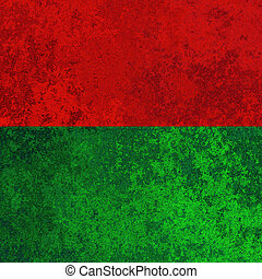 Red and green metal texture - Grunge red and green metal...