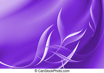 Purple abstract curve background