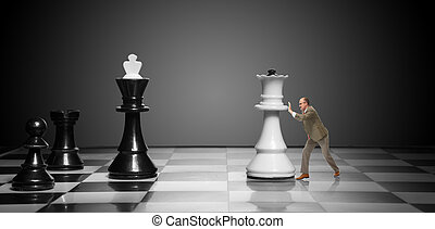 To move the queen. Game of chess