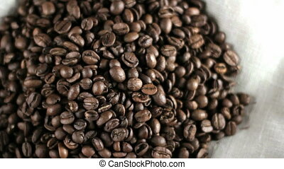 Pile of Coffee beans.